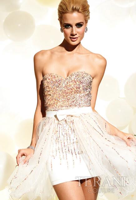 Vestidos cortos de fiesta terani 2012 10 - Gen� K�z Abiye Modelleri