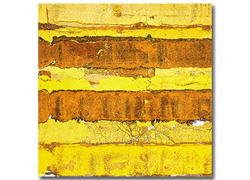 abstract, wall art, modern, urban decay, industrial, contemporary, art, canvas art, yellow, brown