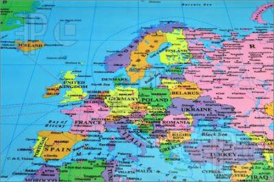 Europe Cities Maps