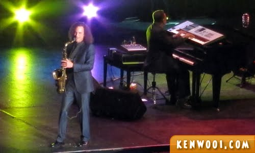 kenny g live tenor sax