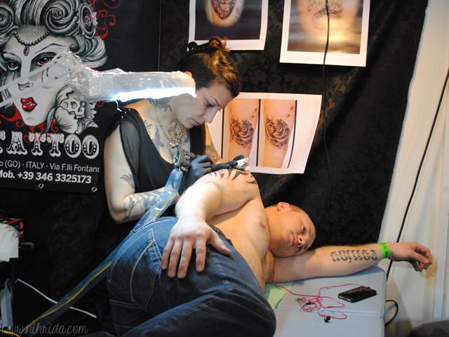 4th International Tattoo Convention (Ljubljana, Slovenia) - Inkheart Tattoo Italy