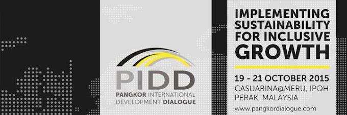 Temuduga Terbuka di Pangkor International Development Dialog (PIDD)