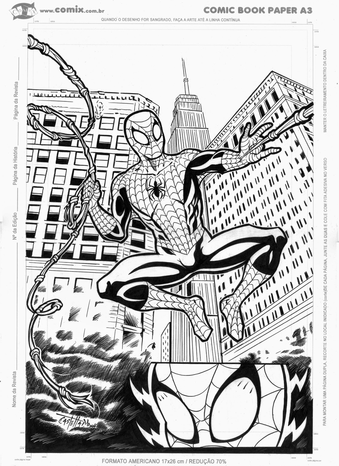 Commission Spider-man by John Castelhano