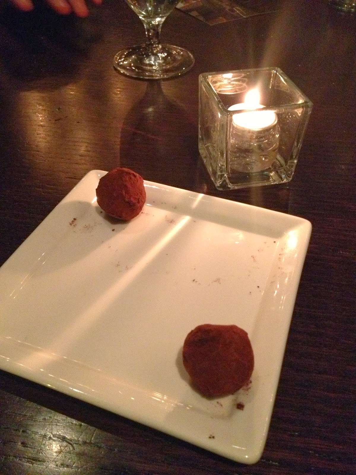 Boston Food Blog Chocolate Dessert Truffles Deuxave Back Bay