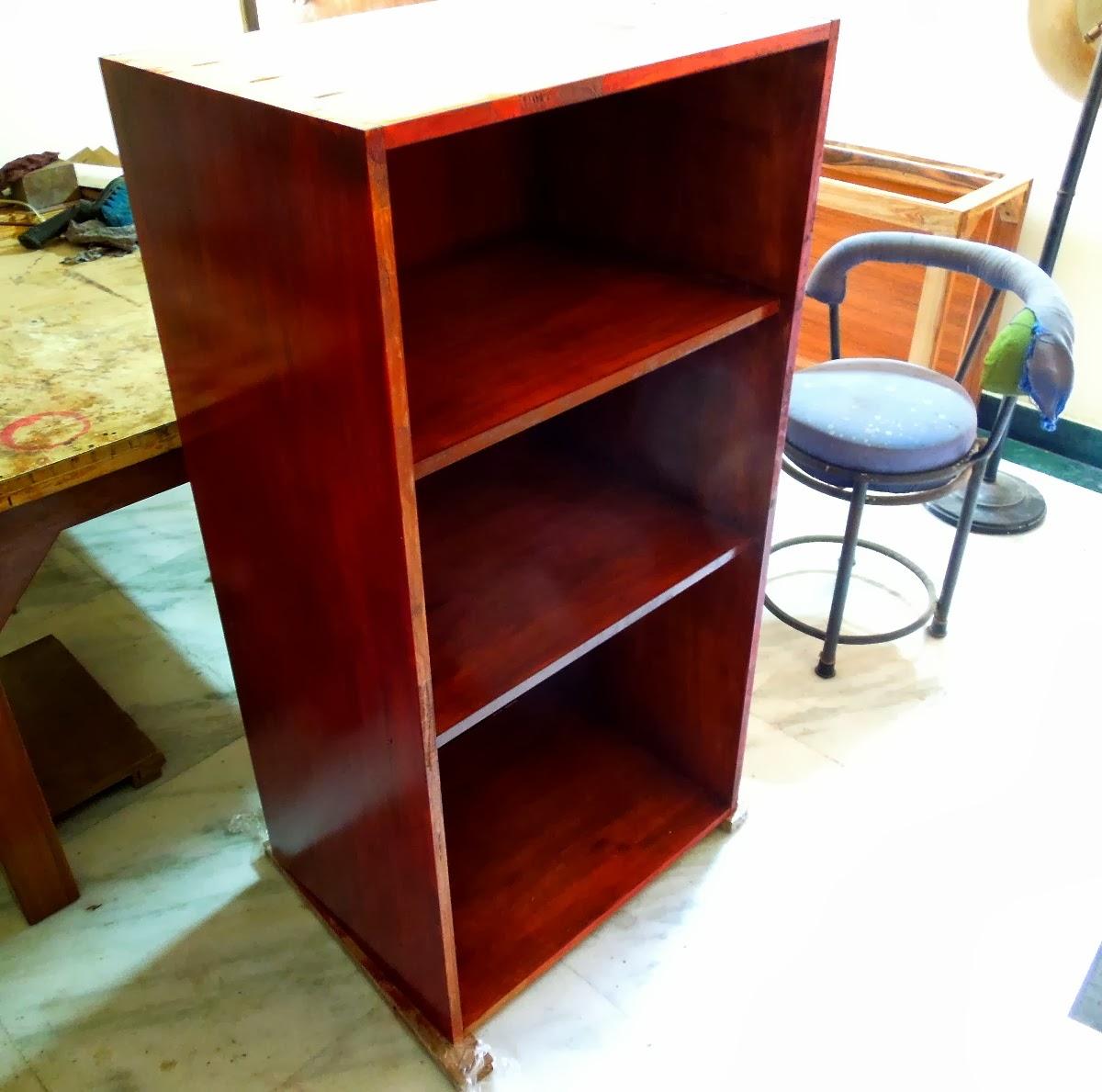 Project Quick Bookshelf With Pocket Hole Screws
