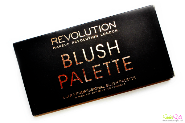 Makeup Revolution London Ultra Professional Blusher Palette