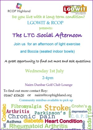 LTC Social Afternoon 1st July