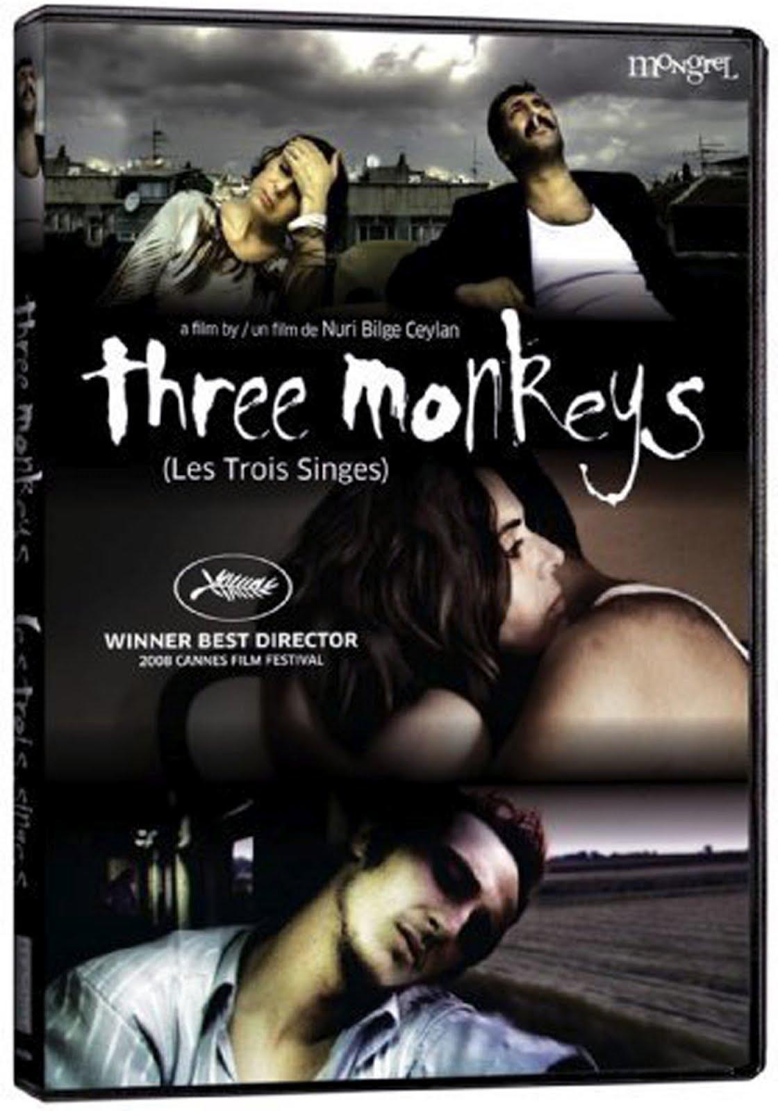 Three Monkeys Blu-ray Case