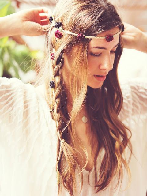 Peinado Boho  boho hairstyles