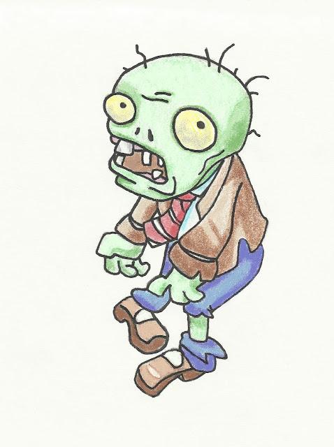 Dibujos De Plantas vs Zombies