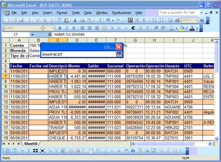 Interfaces de registros contables masivos con VBA Excel + SQL ...