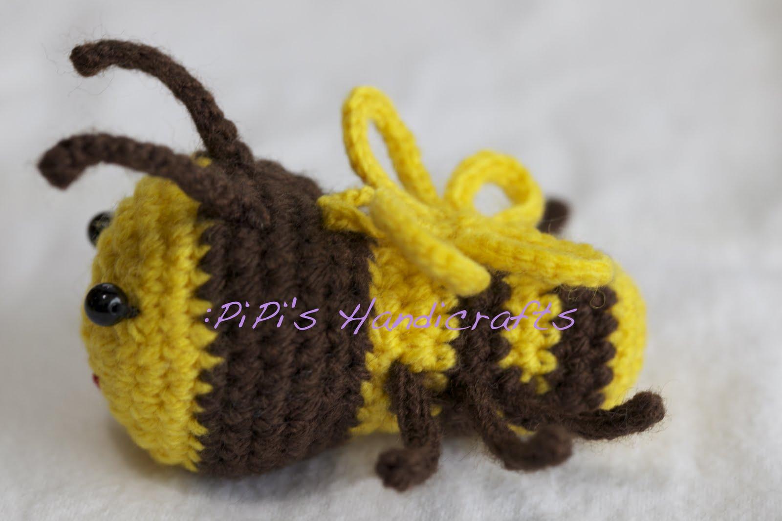 Amigurumi Bee : :PiPis Amigurumi (Crochet): Bee Bee