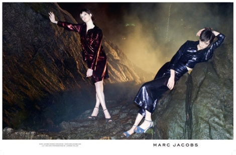 Lily McMenamy and Edie Campbell for Marc Jacobs