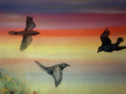 Rainbow Ravens ~My Art