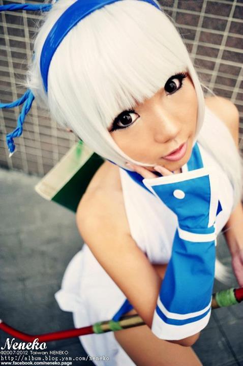 CosRain.Com Neneko's COSPLAY - Mina Majikina