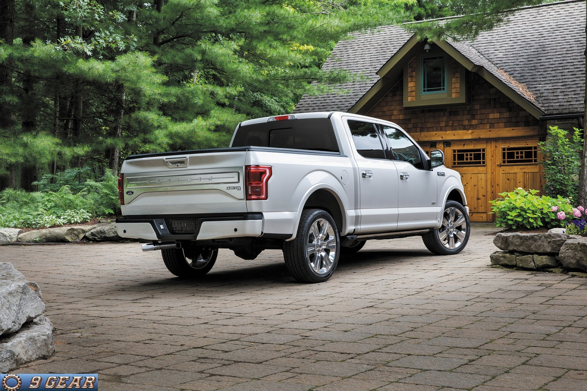 ford unveils new luxury 2016 f 150 limited car reviews. Black Bedroom Furniture Sets. Home Design Ideas