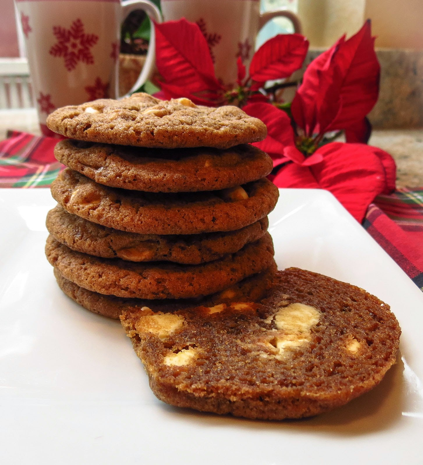 Cappuccino Cookies With Espresso And White Chocolate Recipe ...
