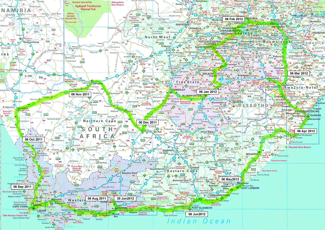 Road Map South Africa Download PDF