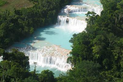 Cascadas de Agua Azul en Chiapas - que visitar