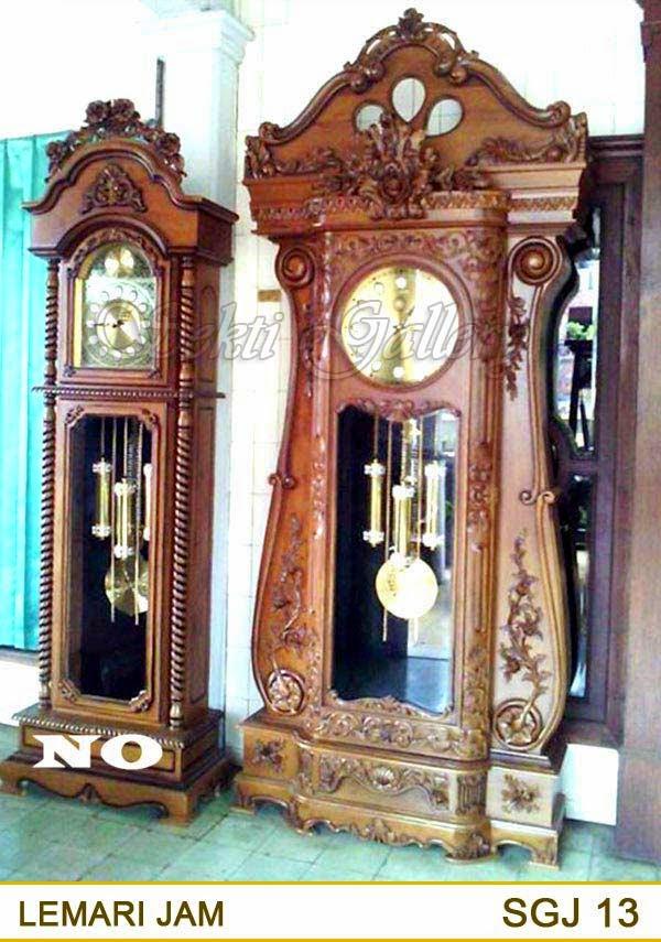 lemari jam mewah besar