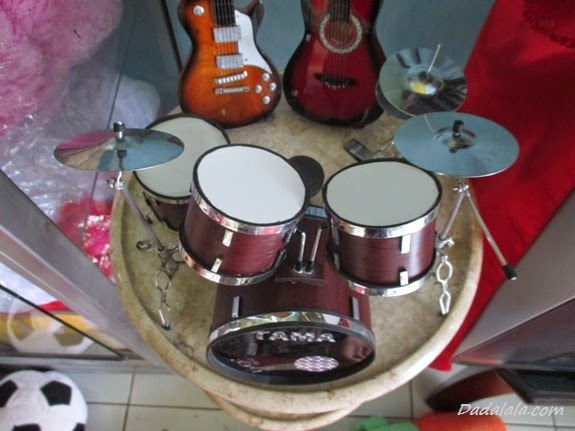 Jual Miniatur Drum Tama Coklat Polos
