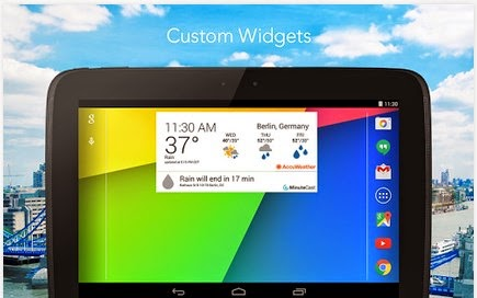 Accuweather Android Widget