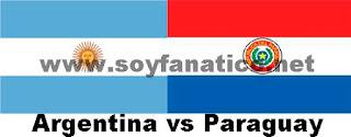 Selección Argentina vs Paraguay 2015
