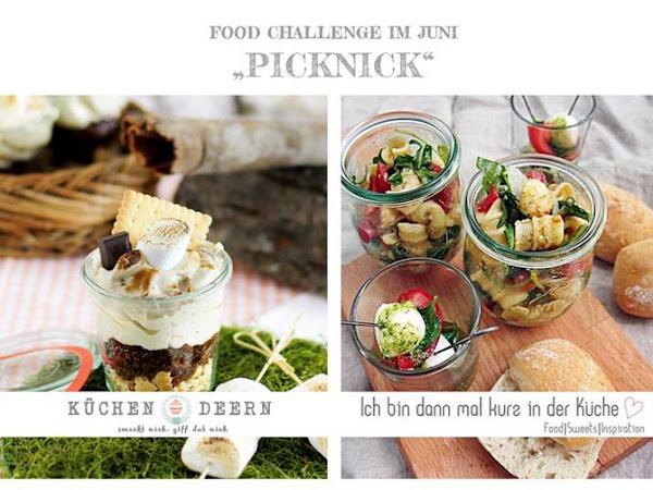 [Foodchallenge] Picknick - vegane Oreo-Schoko-Kirsch-Tarte to go