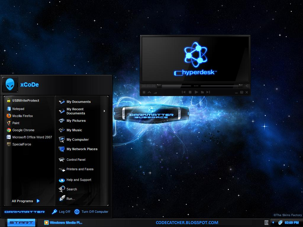 HYPERDESK DARKMATTER WINDOWS XP FREE DOWNLOAD