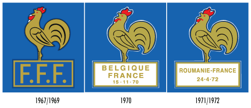 FOOTBALL CRESTS REDESIGN #1 - FRANCE on Behance