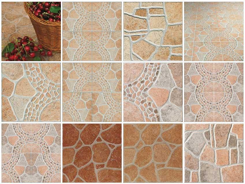 Sketchup texture texture outdoor paving stone cobblestone porfido cotto quartzite slate for Exterior terracotta floor tiles