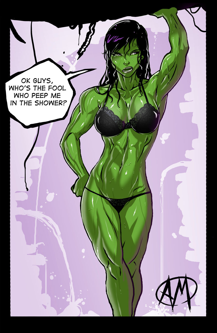 She Hulk Shower por Ganassa