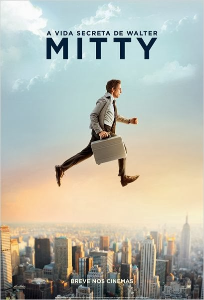 A Vida Secreta de Walter Mitty  Dublado e Legendado  DVDSCR AVI Dual Áudio e RMVB