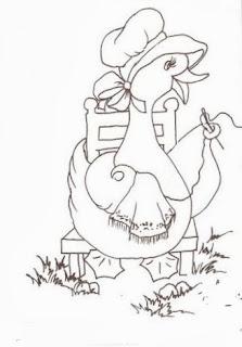 desenho semaninha da dona pata - quinta