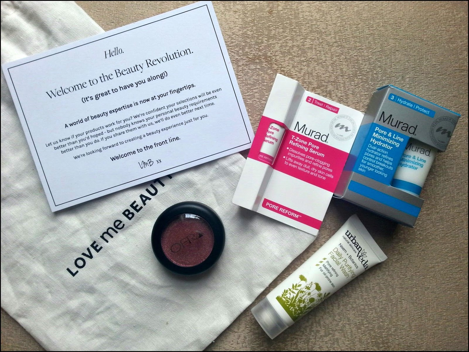 Love Me Beauty box September edition