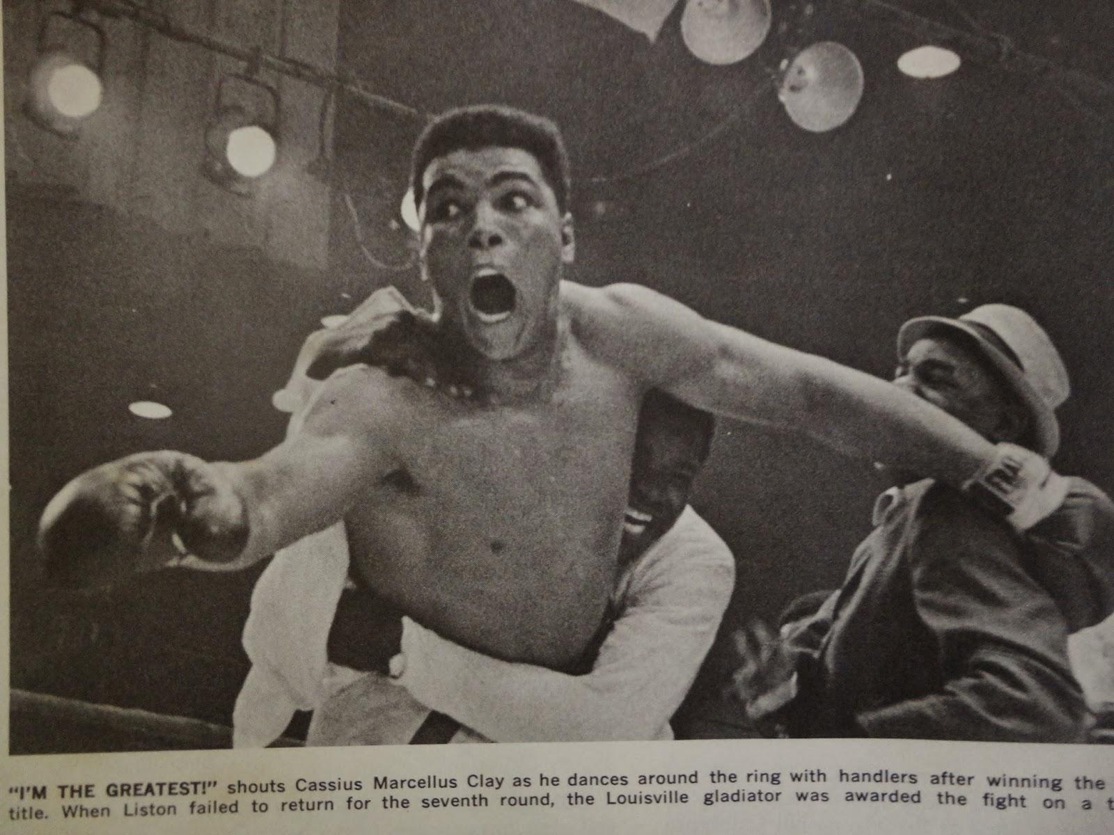 Muhammad Ali Vs Sonny Liston Wallpaper
