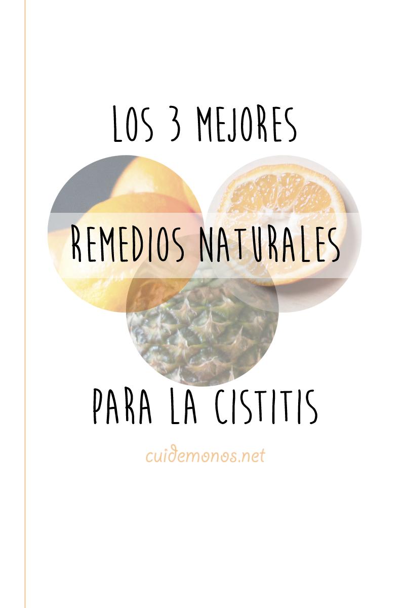 remedios naturales para la cistitis