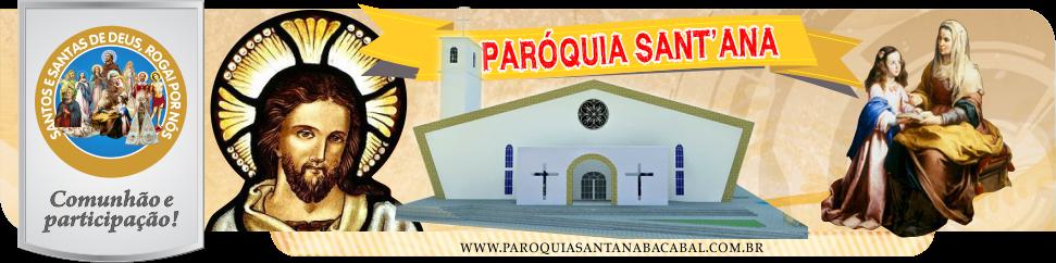 Paróquia Sant'Ana | Diocese de Bacabal-MA