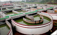treatment plant to control water pollution