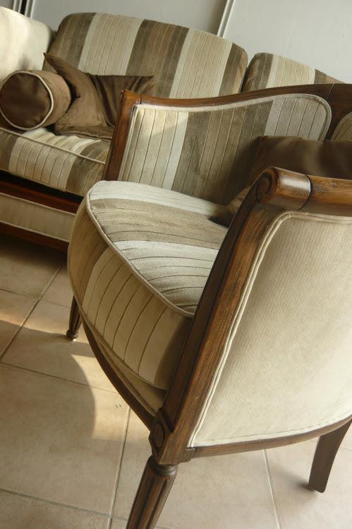 L 39 atelier toile de lin le blog les toiles - Petit fauteuil cabriolet ...