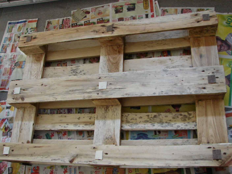 Come fare la cuccia del cane con materiale di recupero - Mobili con bancali di legno ...