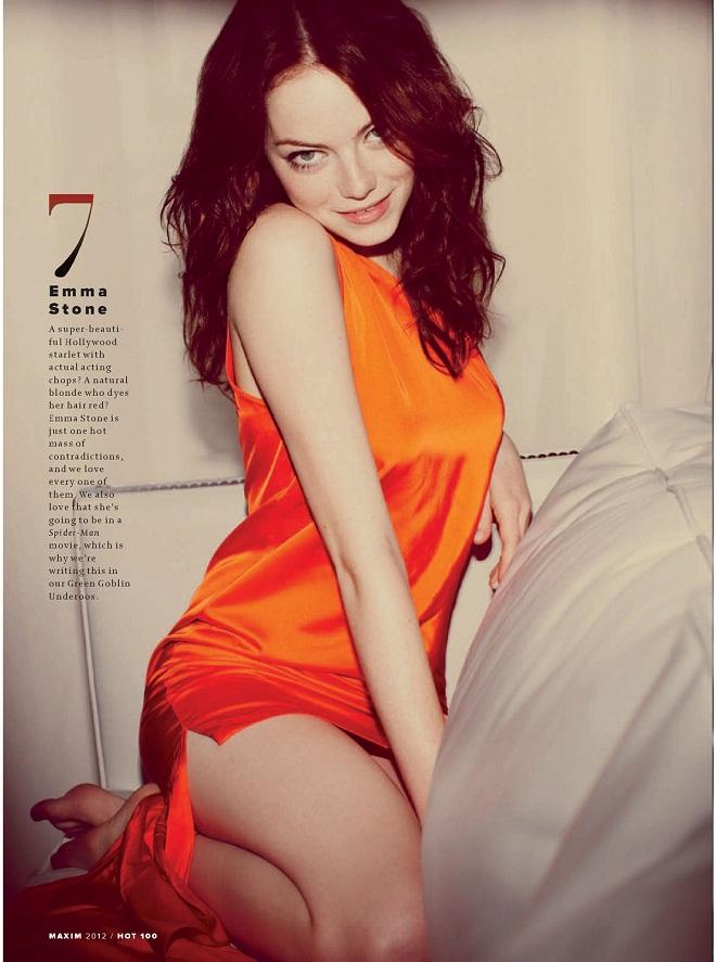 EMMA-STONE - Maxim Hot 100