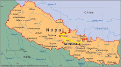 Nepal Route Map