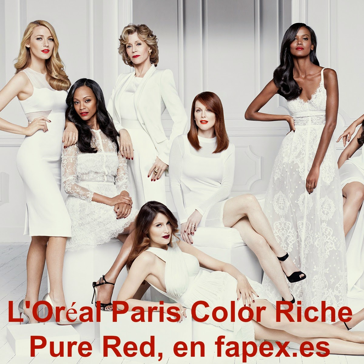 L'Oréal Paris Color Riche Pure Red,