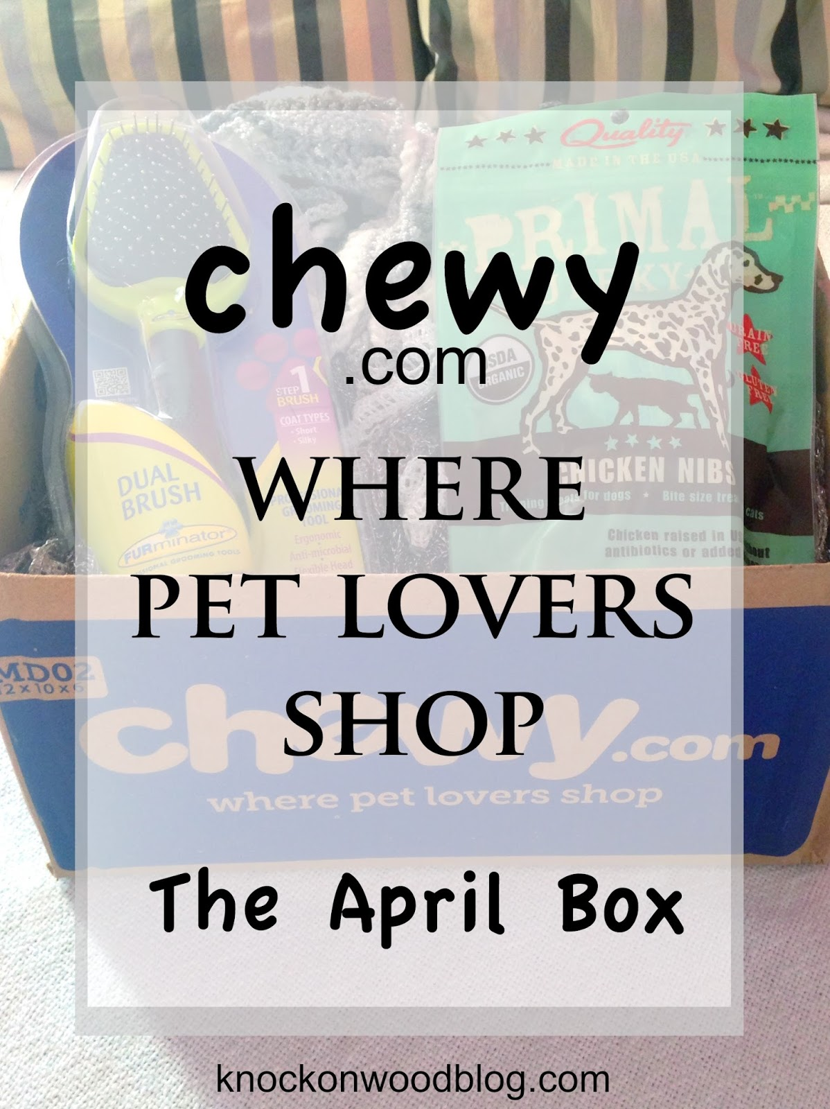 Chewy dog and cat treats