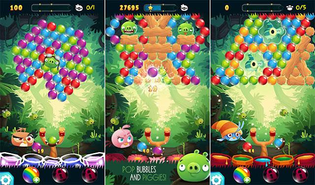 Angry Birds POP Bubble Shooter v1.9.0 Apk Mod [Dinero]