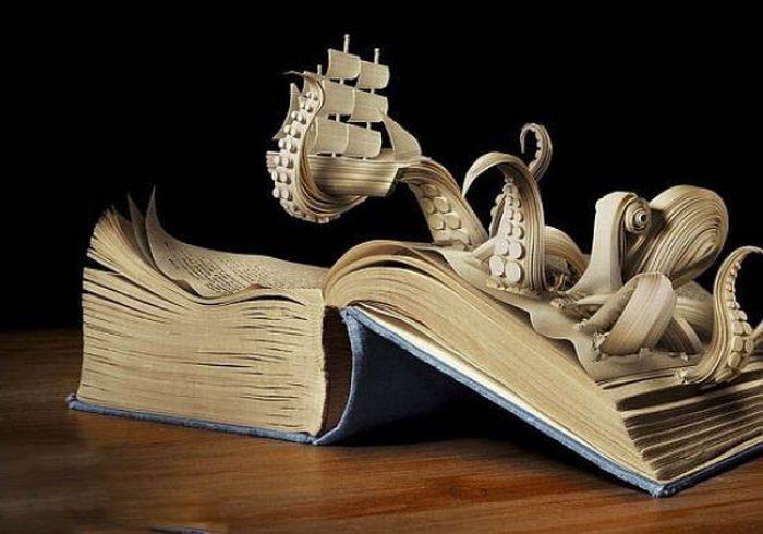 Innova book sculptures photos