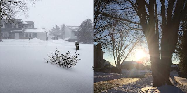 Snowzilla, Pennsylvanie - © Estelle - le hamburger et le croissant