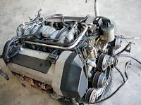 W124 / 500E V8エンジン