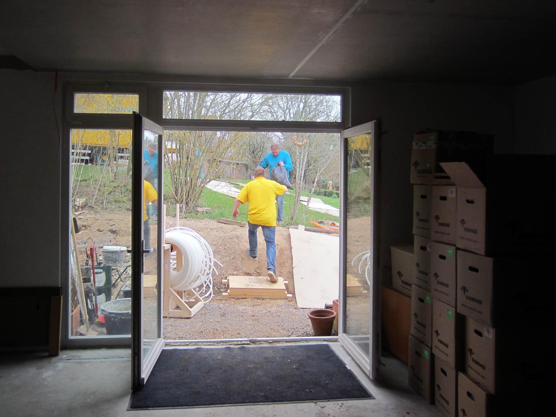Alex en marjon: 2013 april afbouw en verhuizen